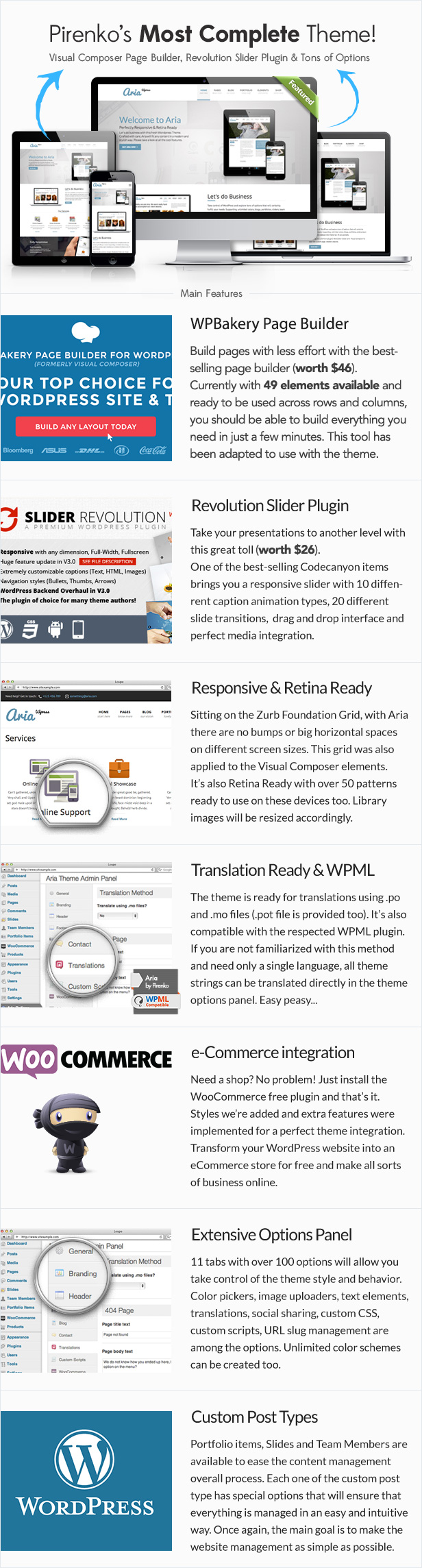 Aria - Pure Business WordPress Theme - 2