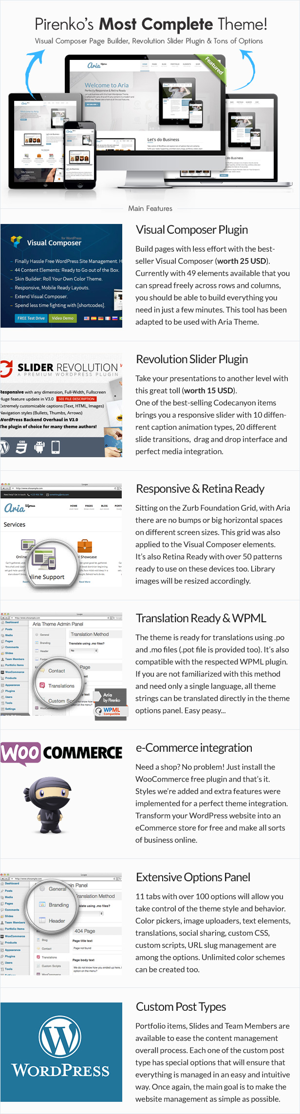 Aria - Pure Business WordPress Theme