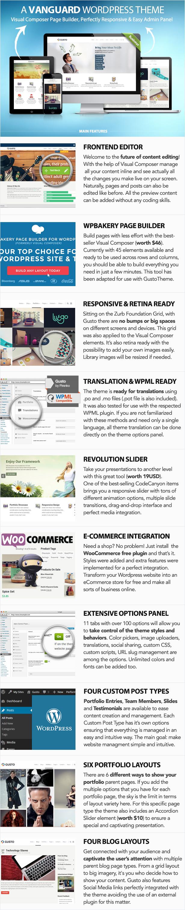 Gusto - Vanguard WordPress Theme - 2