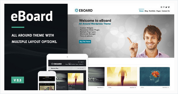 eBoard All Around Wordpress Theme