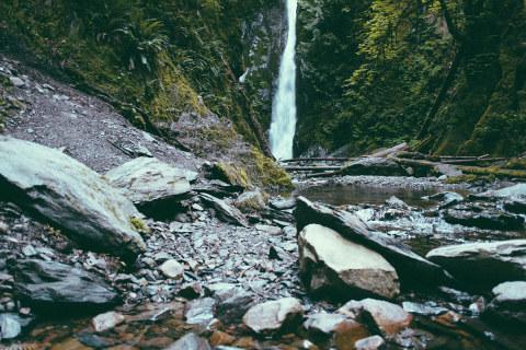 Tight Waterfall